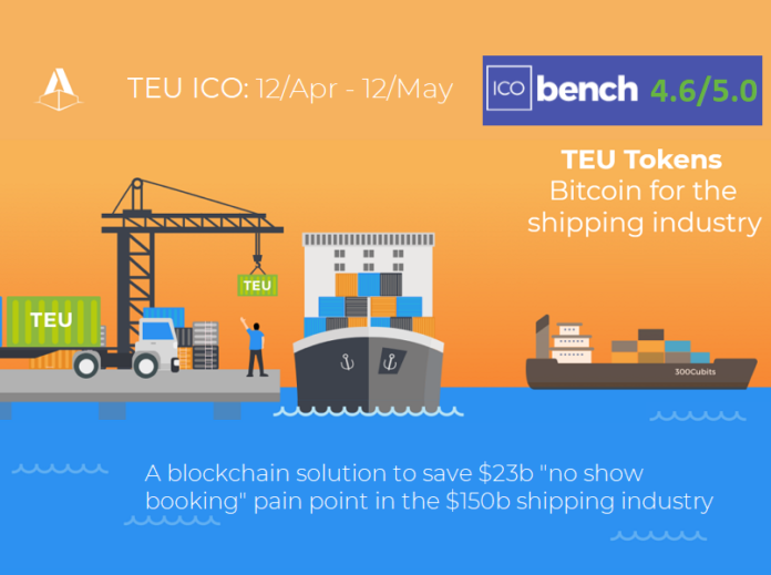 Blockchain-based Container Shipping Platform 300cubits