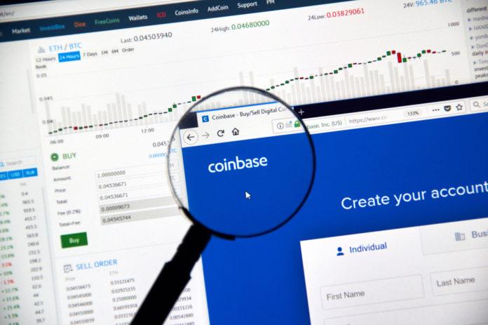 Coinbase Google