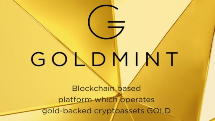 Goldmint Opens Up The Sale Of Cryptoassets Secured By