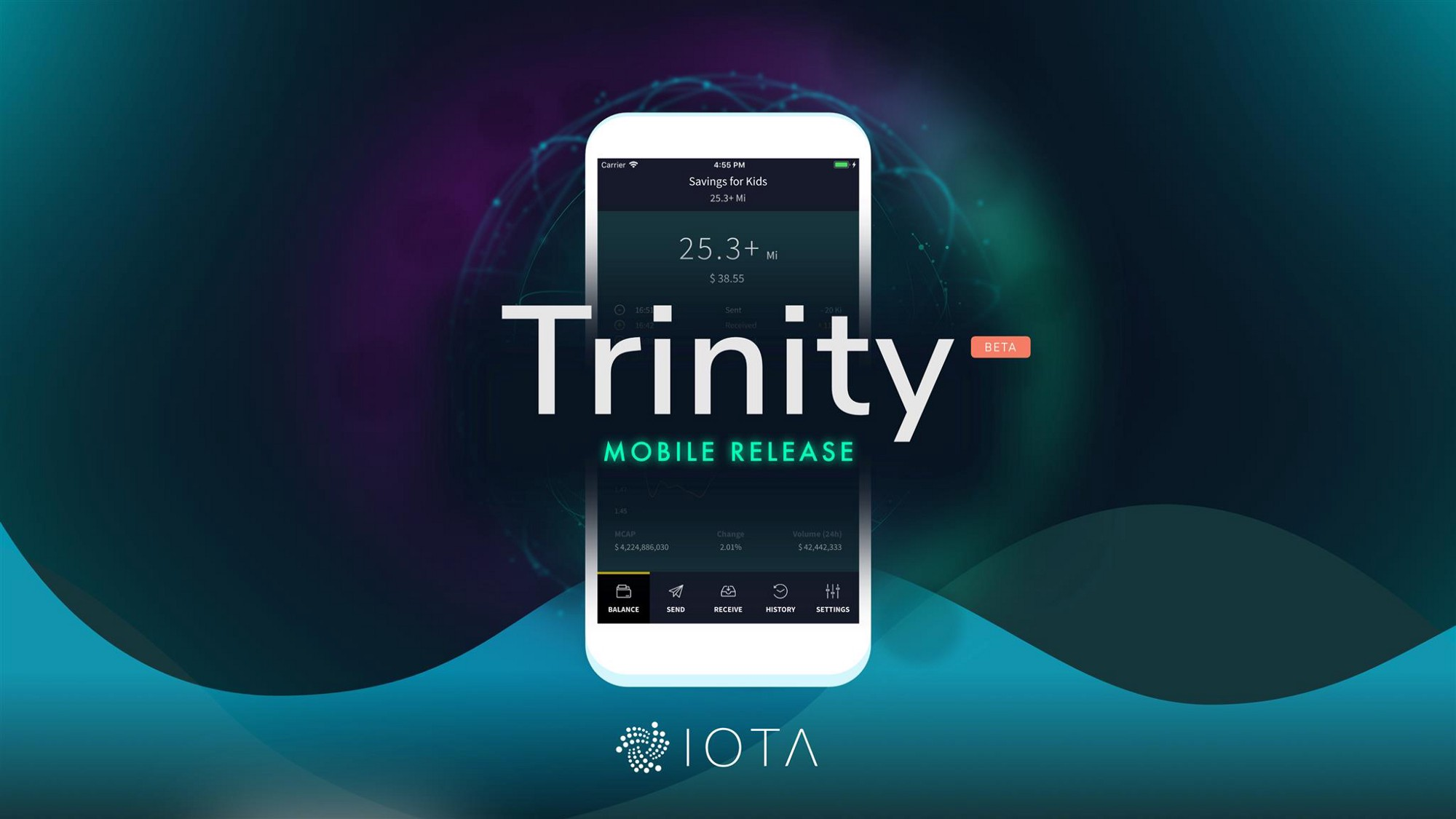 IOTA Trinity Wallet Mobile Beta