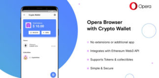Opera introduces the first browser with built-in crypto wallet