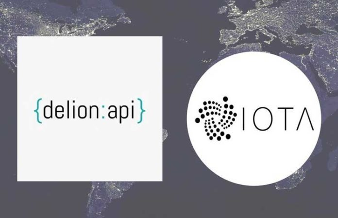 Delion API Now Permits IOTA Payment Using Email