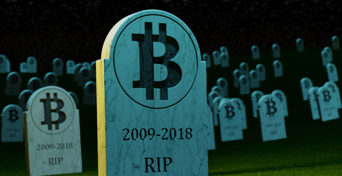 Bitcoin is dead - winter is coming