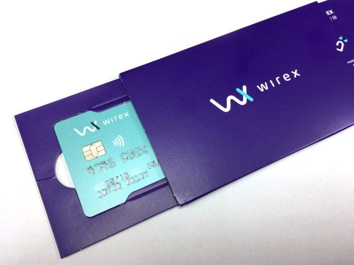 Wirex card issuer