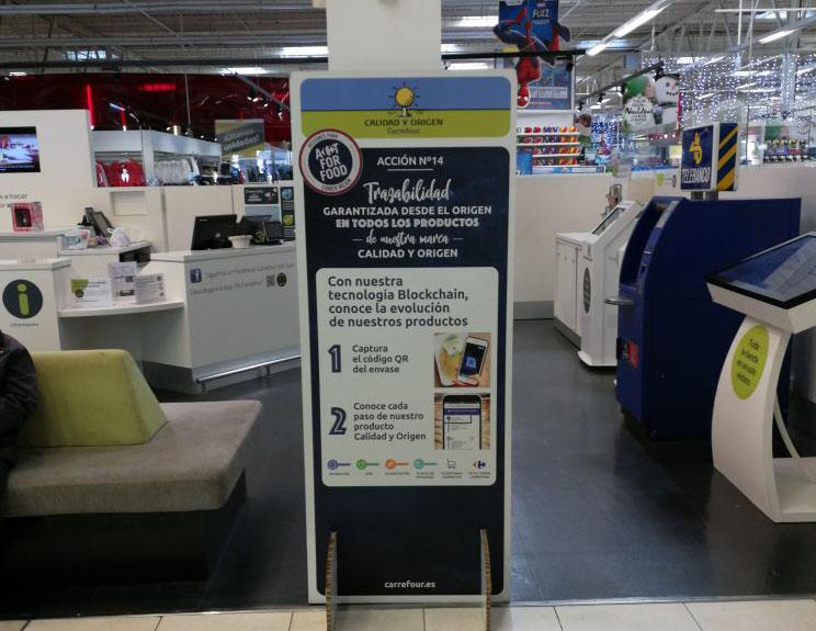 Carrefours Blockchain