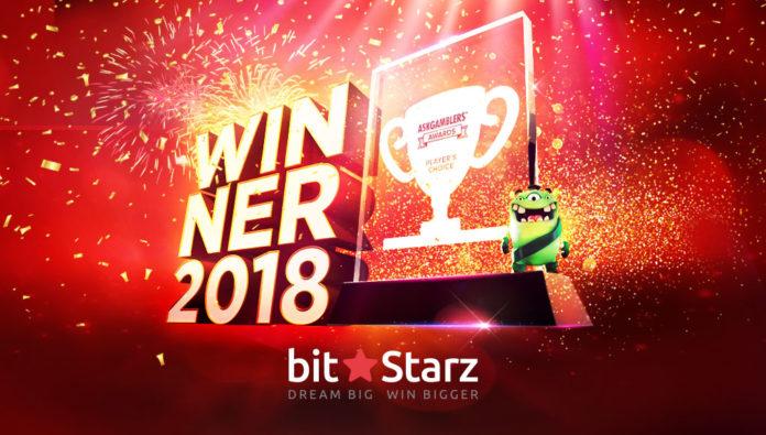 BitStarz Named Players' Choice Casino at AskGamblers Awards!