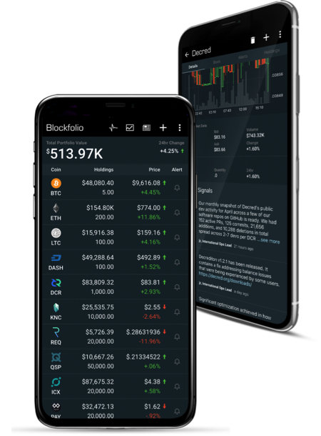 Cryptocurrency news alert app