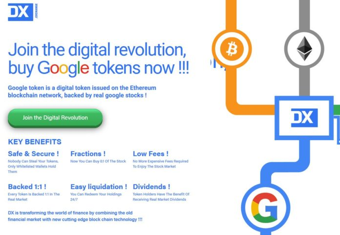 can i buy stock in google cryptocurrency