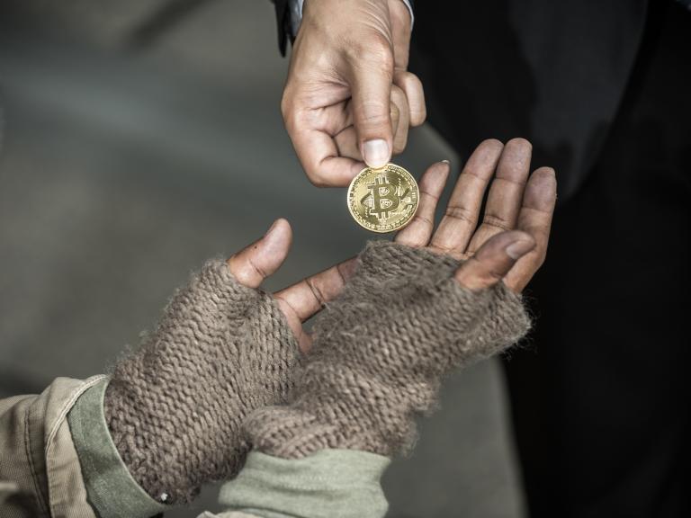 Bitcoin Begging