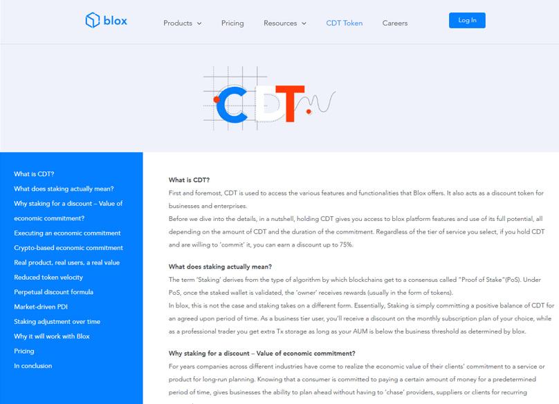 CDT Token