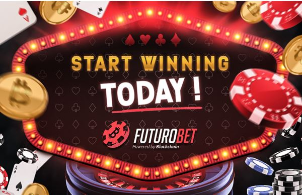 New online casino supported by blockchain: FuturoBet