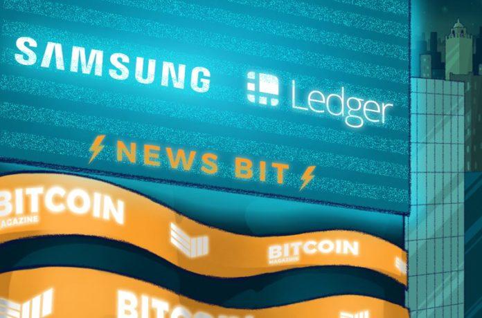 Samsung Invests $2.9 Million in Crypto Wallet Manufacturer Ledger