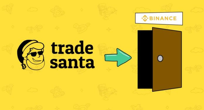 How to build a santa trading bot binance