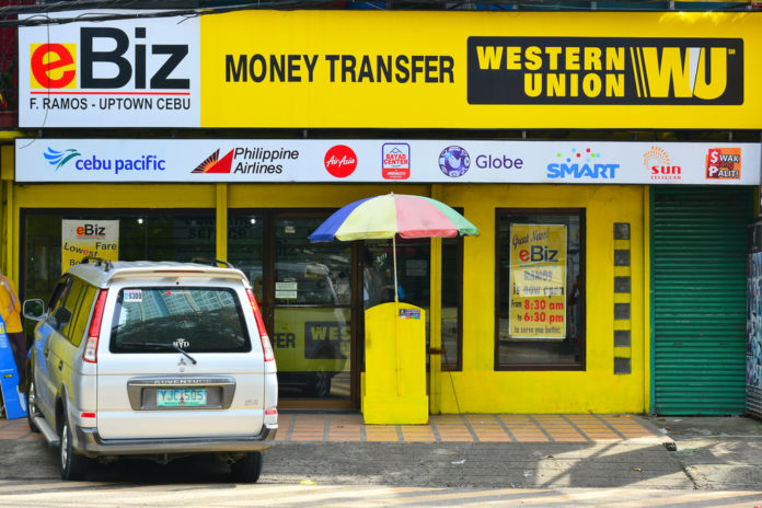 Western Union is working with Blockchain service on the Remittances market