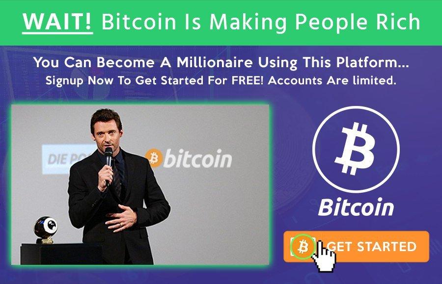 Hugh Jackman bitcoin
