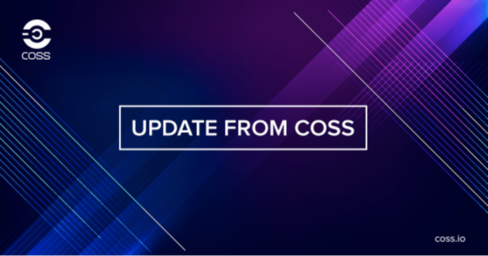 COSS Exchange Introduces Negative Maker Fees
