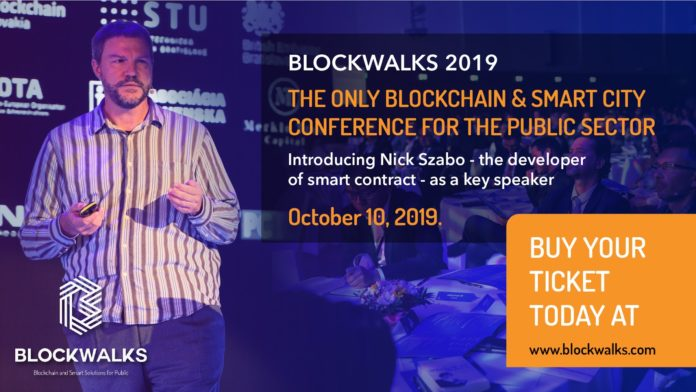 LOCKWALKS 2019 European Conference: How Blockchain will Improve Government Administrations, and the Lives of its Citizens