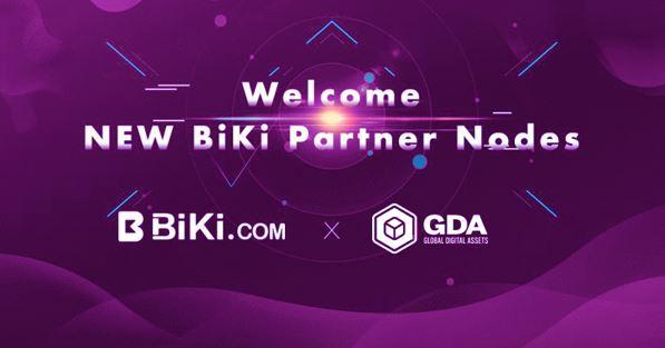 BiKi.com Announces Partnership With Global Digital Assets