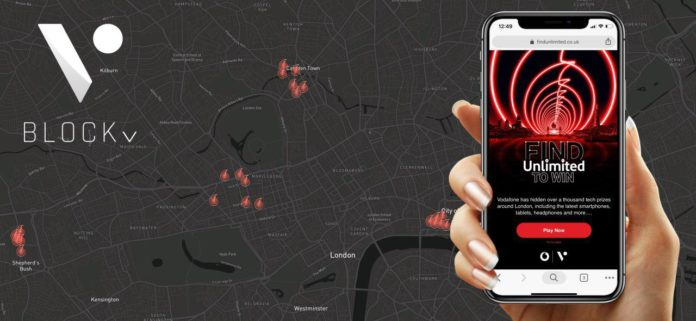 BlockV NFT Technology Powers Augmented Reality Telecoms Giveaway for Millions of People in London