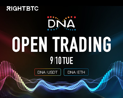 Metaverse Foundation Launches New DNA Token on RightBTC