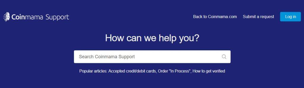 coinmama customer support