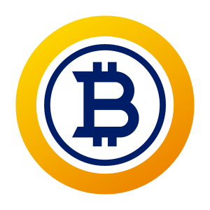 bitcoin gold logo png