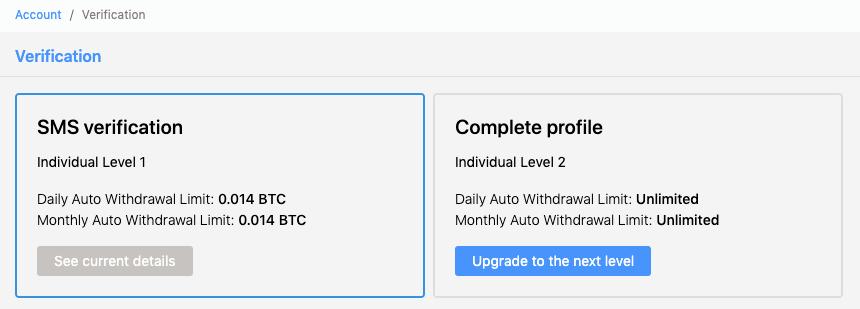 ICE3X-verification-tiers-cryptocurrency-exchange