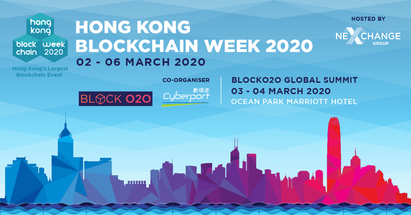 Hong Kong Blockchain Week 2020