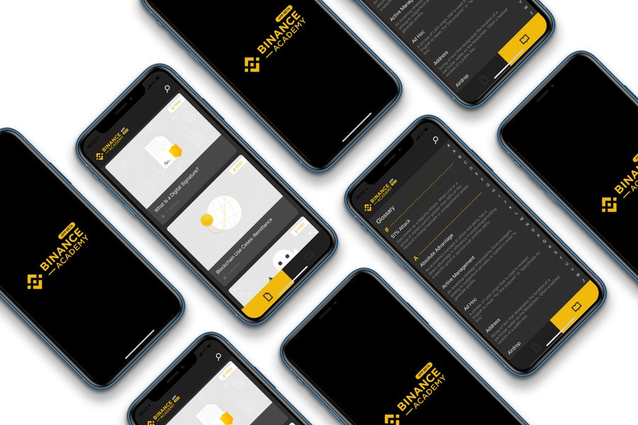 Binance academy app