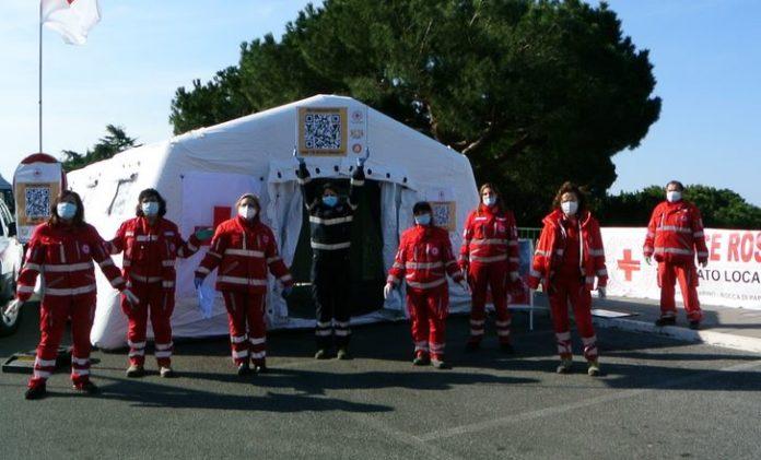 Red Cross Italy Bitcoin