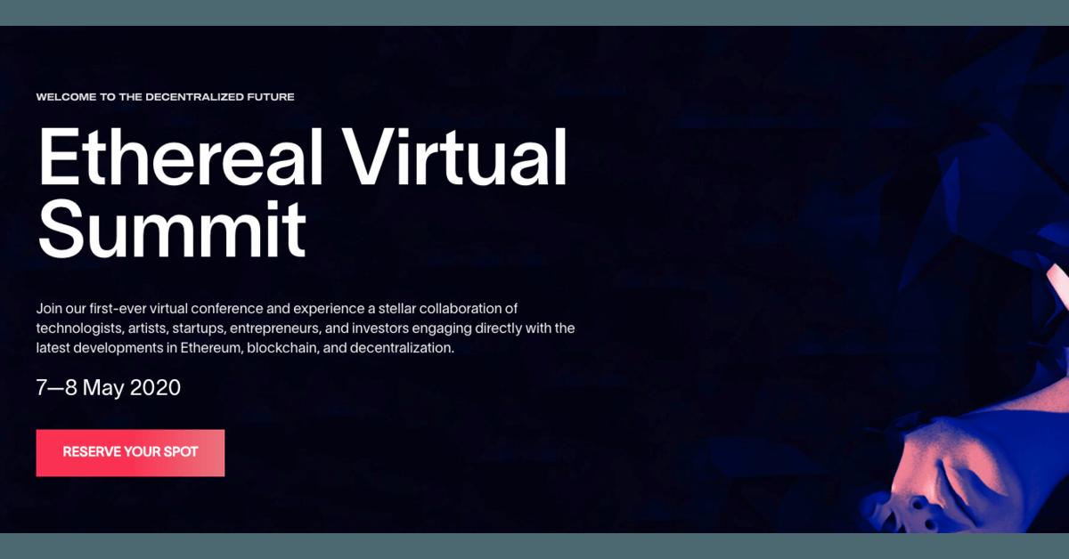 Ethereal Virtual Summit 2020