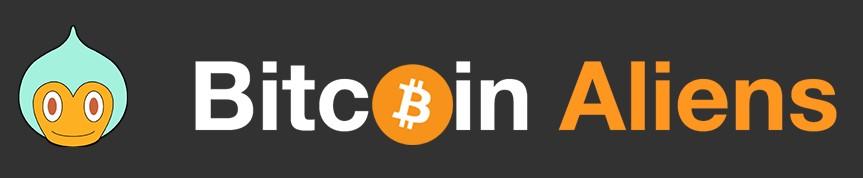Bitcoin Aliens logo png