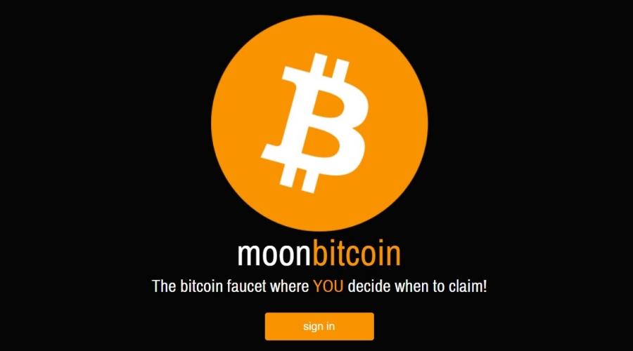 Moon Bitcoin Faucet